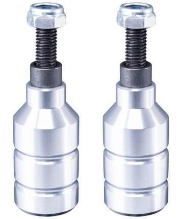 XAOS Набор пегов для трюкового самоката Drop Alu Silver, 2 шт.