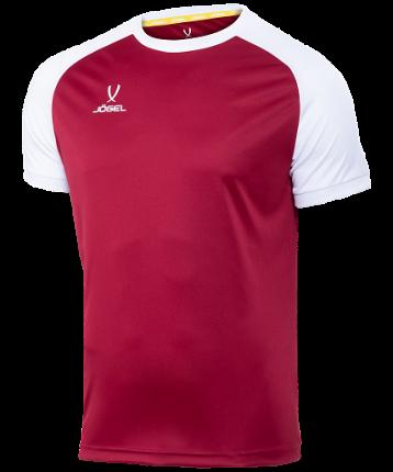 Футболка Jogel Camp Reglan, pomegranate/white, L INT