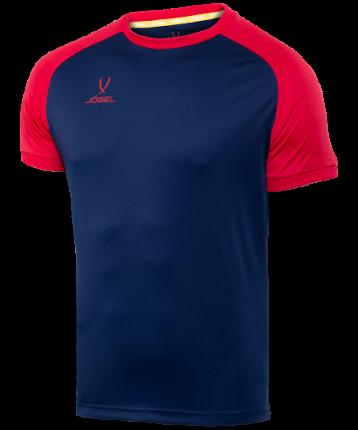 Футболка футбольная Jogel Camp Reglan, dark blue/red, S