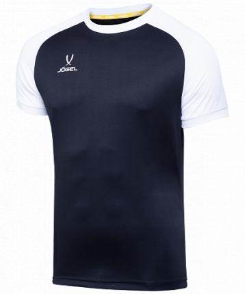 Футболка футбольная Jogel Camp Reglan, black/white, L