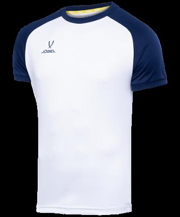 Футболка футбольная Jogel Camp Reglan, white/dark blue, L