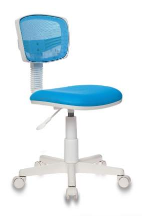 Компьютерное кресло Бюрократ 1121952 CH-W299/LB/TW-55 54х56х90 см, белый/голубой