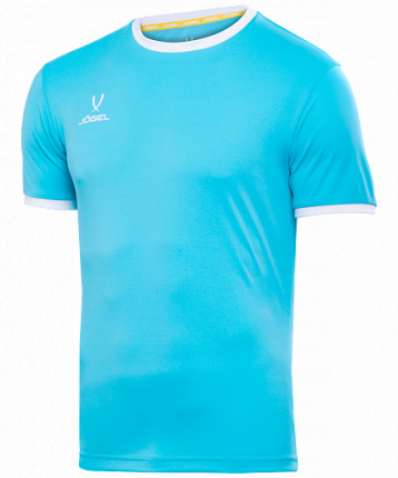 Футболка футбольная Jogel Camp Origin, turquoise/white, L