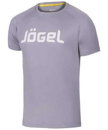 Футболка Jogel JTT-1041-081, grey/white, L INT