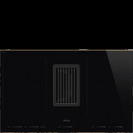 Встраиваемая индукционная панель Smeg HOBD682R Black