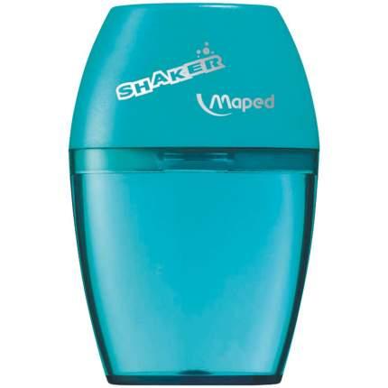 """Точилка пластиковая """"Shaker"""", 1 отверстие, с полупрозрачным контейнером"""