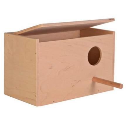Скворечник для птиц TRIXIE Nesting Box S, деревянный, 21x13x12 см