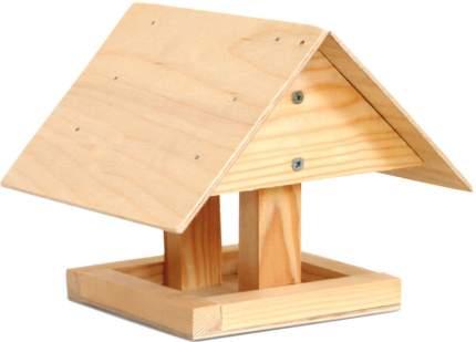 Кормушка для птиц Гавриш Избушка, деревянная, 21х20х20 см