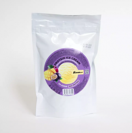 Bombbar Смесь для приготовления мороженого без сахара, 120 г (Манго-маракуйя)
