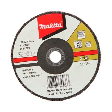 Диск Makita лепестковый D-27729