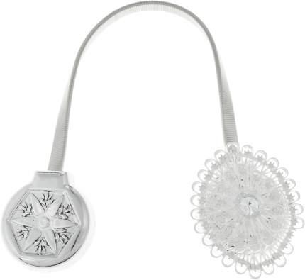 Подхват для штор Ajur, 30 см, серебро