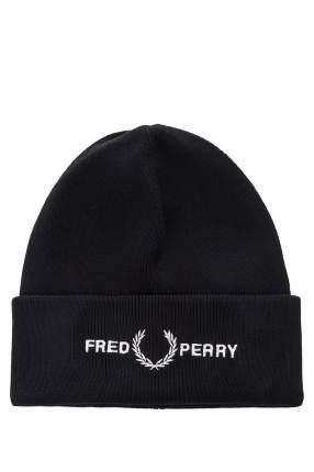 Шапка бини мужская Fred Perry C7141 синяя
