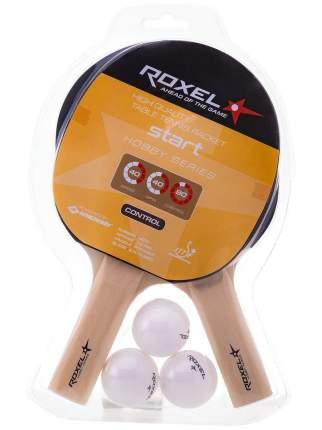 Набор для настольного тенниса Hobby Start, 2 ракетки, 3 мяча