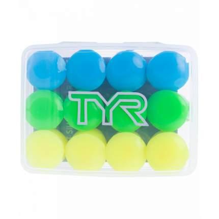 Беруши для плавания TYR Kids' Soft Silicone Ear Plugs мультиколор