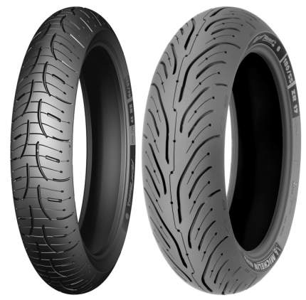 Мотошина Michelin Pilot Road 4 160/60 ZR17 69W TL Задняя (Rear)