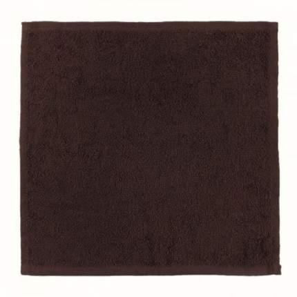 Полотенце (салфетка) махровое кухонное (цвета Горький Шоколад) 30х30