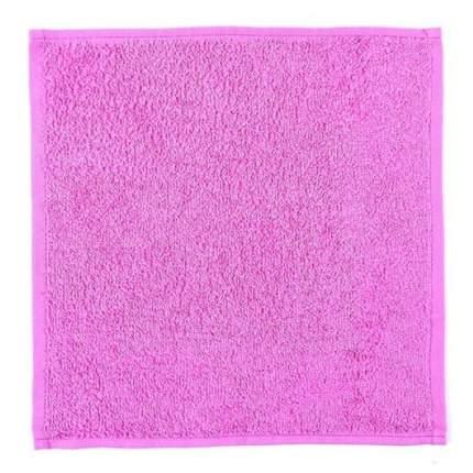 Полотенце (салфетка) махровое кухонное (Ярко-Розовый) 30х30