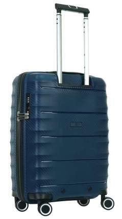 Чемодан Baudet BHL0714815, синий, 55 см, S