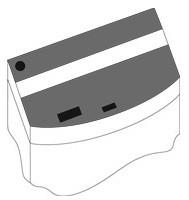 Комплект пластиковых крышек для Juwel Vision 180, черный