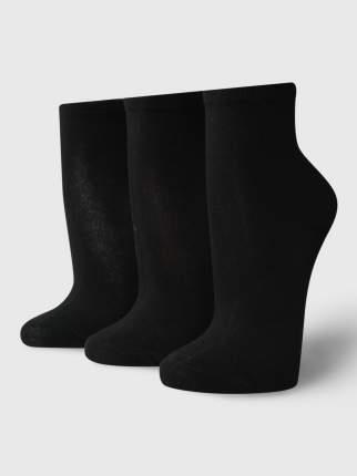 Набор носков 3 пары женских ТВОЕ A6187 черных one size