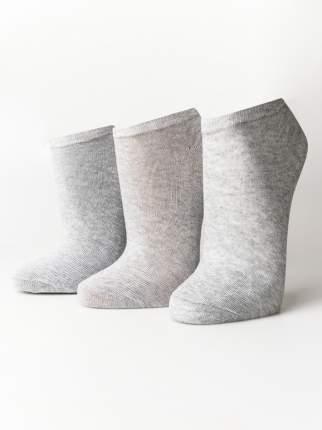 Набор носков 3 пары женских ТВОЕ A6186 серых one size