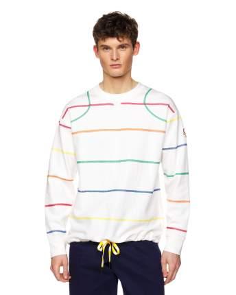 Толстовка мужская United Colors of Benetton 3CMAJ16J5 белый XXL