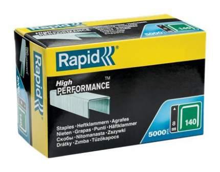 Скобы RAPID 11908111 8 мм, тип 140, 5000 шт.