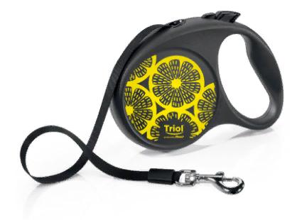 Поводок-рулетка Flexi Joy Lemon, 5 м, в ассортименте, до 50 кг