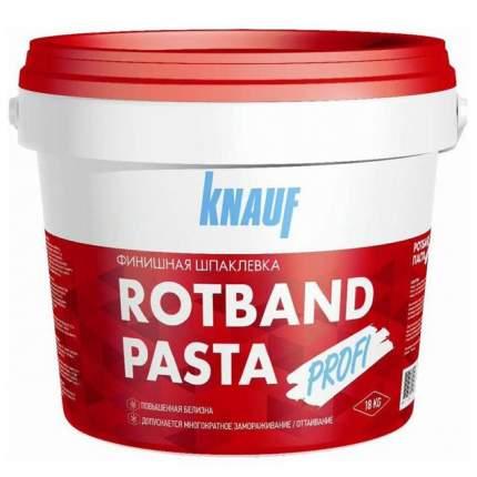 Шпаклевка KNAUF Ротбанд Паста Профи (156116) готовая 18 кг