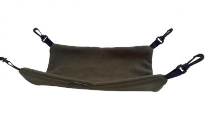 Гамак двусторонний для всех грызунов OSSO Fashion флис 33x43см зеленый