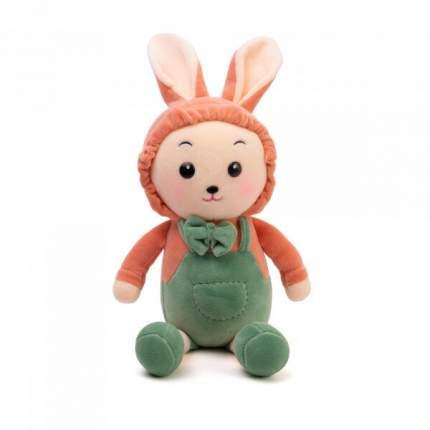 Мягкая игрушка To-ma-to Зайчик зеленый, 30 см