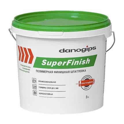 Шпаклевка DANOGIPS СуперФиниш (175340) готовая 5 кг