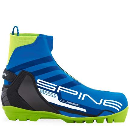 Ботинки для беговых лыж Spine Classic 494 SNS 2020, синие/зеленые, 42