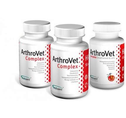 Комплекс c гиалуроновой кислотой для собак и кошек ArthroVet Complex HA  90 таб.
