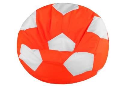 Кресло-мешок Pazitif Мяч  БМО8_оранжево-белый