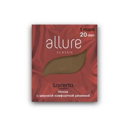 Капроновые носки женские ALLURE ALL LACERTA 20 бежевые 23-25