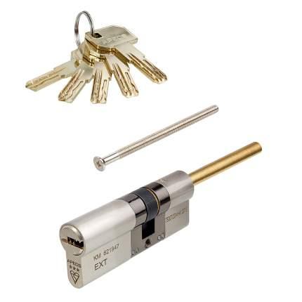 Цилиндровый механизм Apecs MP шток-ключ 35S-45 (80мм) Ni (5key) шток L=65мм ф=8мм