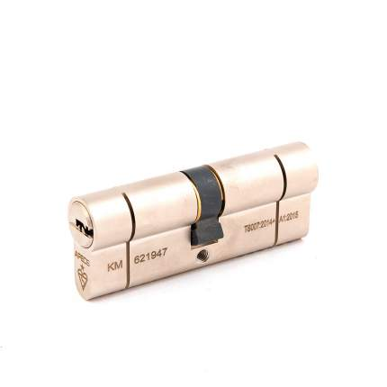 Цилиндровый механизм Apecs N6 ключ/ключ 40-40 (80мм) Ni (5key)