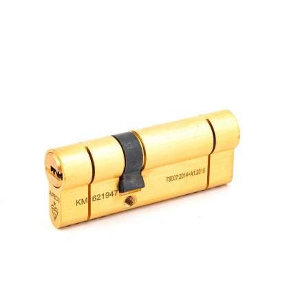Цилиндровый механизм Apecs N6 ключ-ключ 31-50 (81мм) золото (5key)