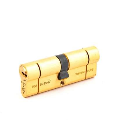 Цилиндровый механизм Apecs N6 ключ/ключ 40-40 (80мм) золото (5key)