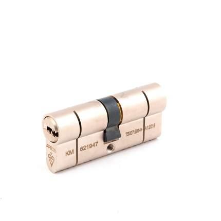 Цилиндровый механизм Apecs N6 ключ/ключ 35-35 (70мм) Ni (5key)