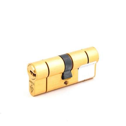 Цилиндровый механизм Apecs N6 ключ/ключ 35-35 (70мм) золото (5key)