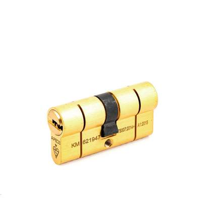 Цилиндровый механизм Apecs N6 ключ/ключ 31-31 (62мм) золото (5key)