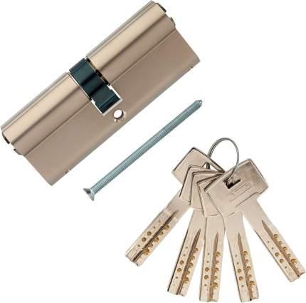 Европрофильный цилиндр ABUS M12R410 ключ/ключ 40-40 (80 мм) NI (5 key)