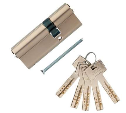 Европрофильный цилиндр ABUS M12R410 ключ/ключ 35-50 (85 мм) NI (5 key)