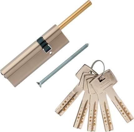 Европрофильный цилиндр ABUS M12R491-27 ключ/шток 70-30 (100 мм) NI (5 key)