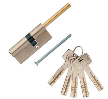 Европрофильный цилиндр ABUS M12R491-27 ключ/шток 45-30 (75 мм) NI (5 key)