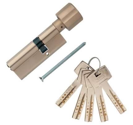 Европрофильный цилиндр ABUS M12R430 ключ/вертушка 45-30 (75 мм) NI (5 key)