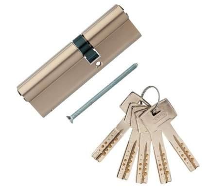 Европрофильный цилиндр ABUS M12R410 ключ/ключ 40-65 (105 мм) NI (5 key)