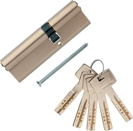 Европрофильный цилиндр ABUS M12R410 ключ/ключ 40-60 (100 мм) NI (5 key)